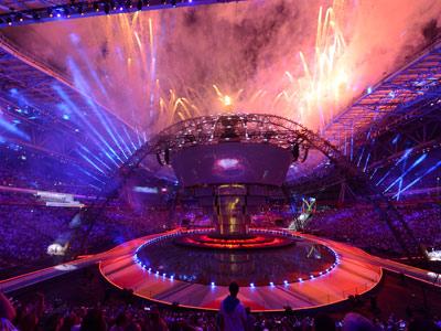 Открытие Универсиады-2013 в Казани