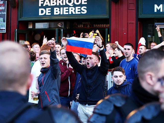 Английские СМИ — о беспорядках на Евро-2016