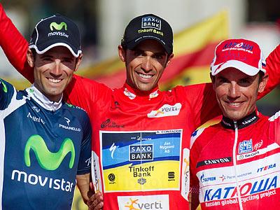 Вальверде, Контадор и Родригес