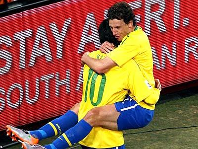 Новый футбол от Бразилии