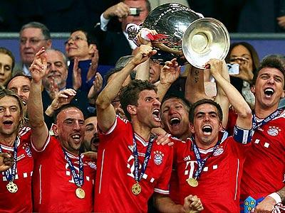 """""""Бавария"""" — лучший клуб Европы 2013 года"""