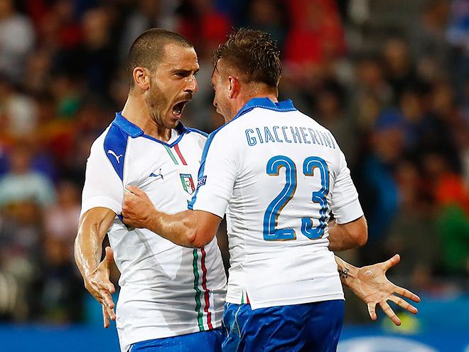 Бельгия – Италия. 13 июня 2016 года. Обзор матча, фото, видео