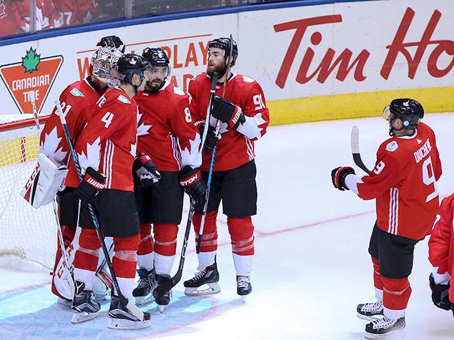Кубок мира — 2016. Канада играет с США, Финляндия со Швецией