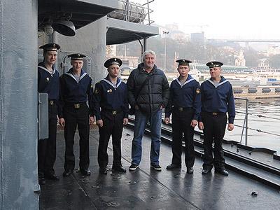 «Авангард» на борту «Маршала Шапошникова»