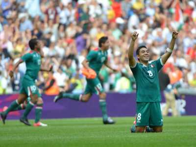 Лондон-2012. Футбол. Бразилия проиграла в финале Мексике