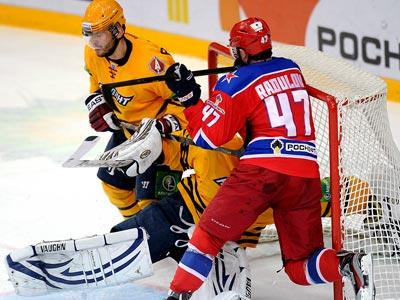 «Атлант» вырвал победу у ЦСКА – 2:0