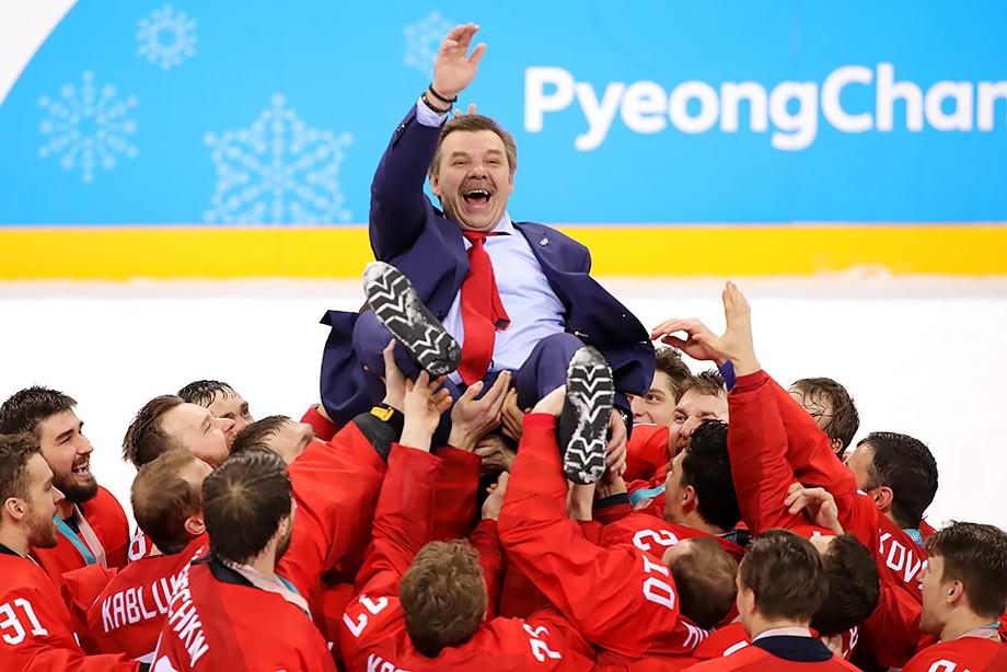 Олег Знарок, сборная России