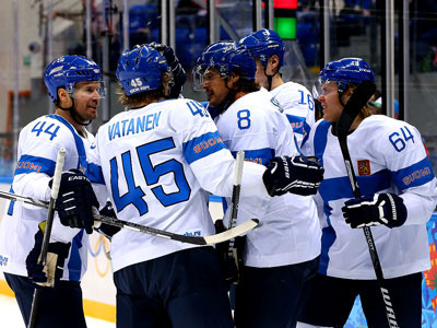 Сочи-2014. Хоккей. Норвегия - Финляндия - 1:6