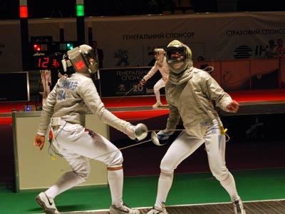 В первый день чемпионата мира по фехтования в активе Украины серебро