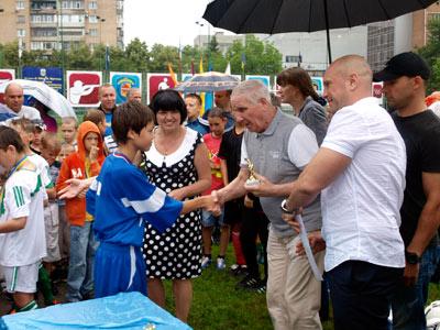 Старт чемпионат Украины по дворовому мини-футболу