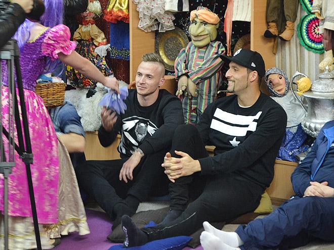 «Динамо» провело мастер-класс в московской школе