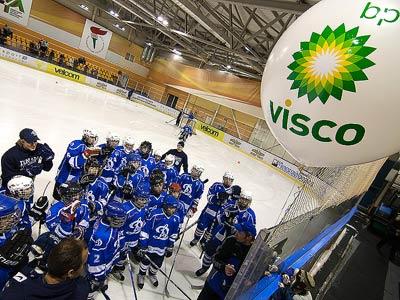 КХЛ и марка моторных масел BP Visco провели мастер-класс в Минске