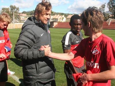 «Спартак» продолжает тренироваться в Испании