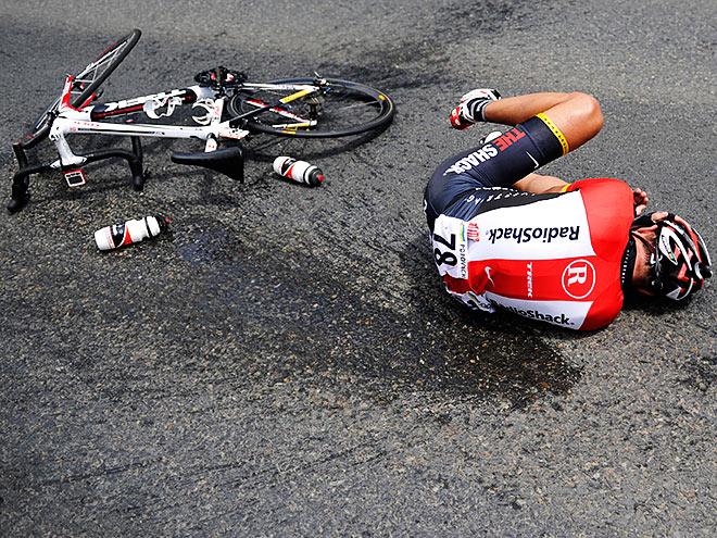 Самые страшные катастрофы в велоспорте