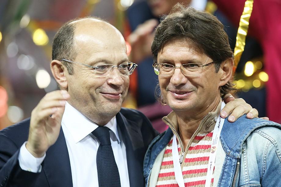Сергей Прядкин и Леонид Федун