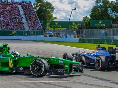 Формула-1: гонщики в первой половине сезона