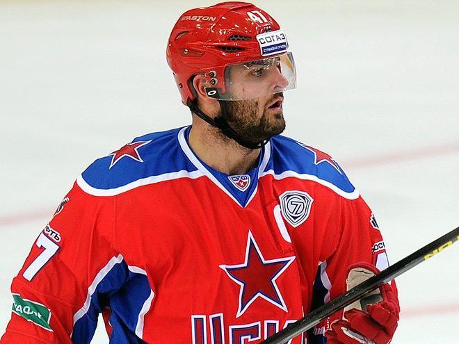 Александр Радулов забросил первую шайбу в сезоне