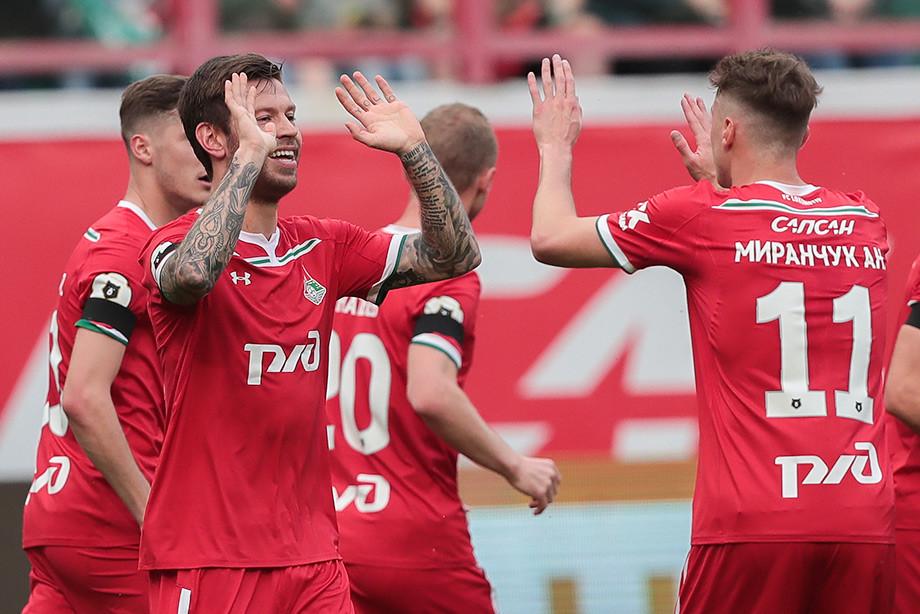 «Локомотив» – «Рубин» – 4:0, обзор матча