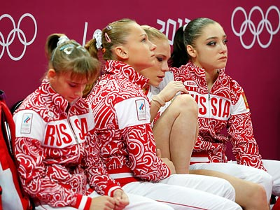Лондон-2012. Спортивная гимнастика. Сборная России