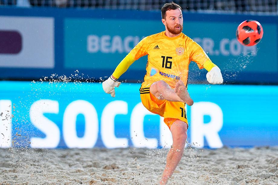 Венгрия испания пляжный футбол
