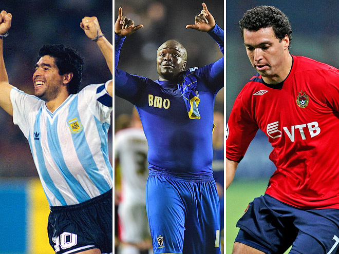 Роналдо, Марадона и другие игроки-толстяки