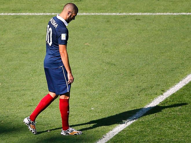 Карим Бензема исключен из сборной Франции из-за Матье Вальбуэна