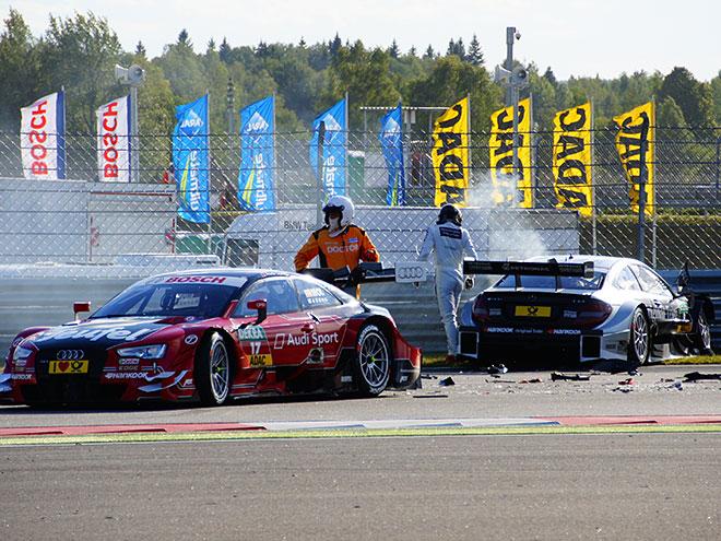 Репортаж с субботнего дня DTM на Moscow Raceway