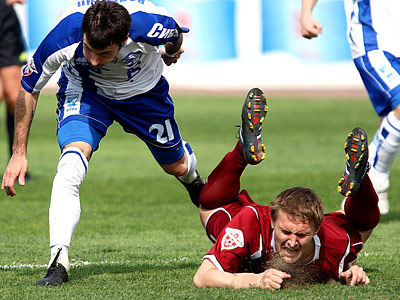 Популярность чемпионата России: 2010 vs 2006