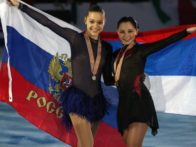 Аделина Сотникова и Елизавета Туктамышева