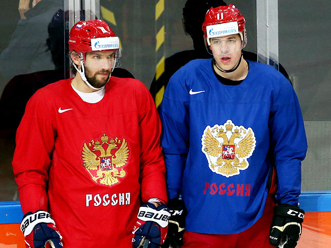Александр Овечкин и Евгений Малкин