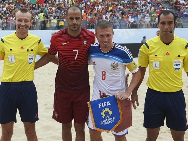 Илья Леонов - о судействе матча Россия - Португалия