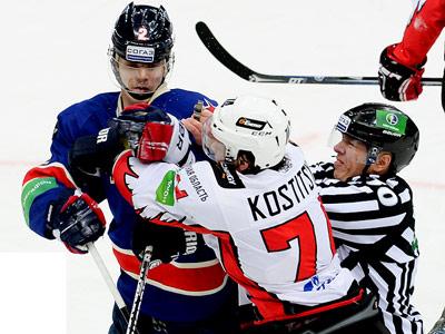 Итоги игрового дня КХЛ (26.02.2014)