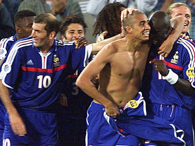 Франция – Италия 2:1 (д. в.). Финал ЧЕ-2000
