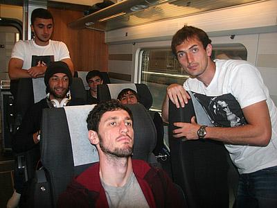 Гаджибеков болел за «Реал», а Ахмедов за «Барсу»