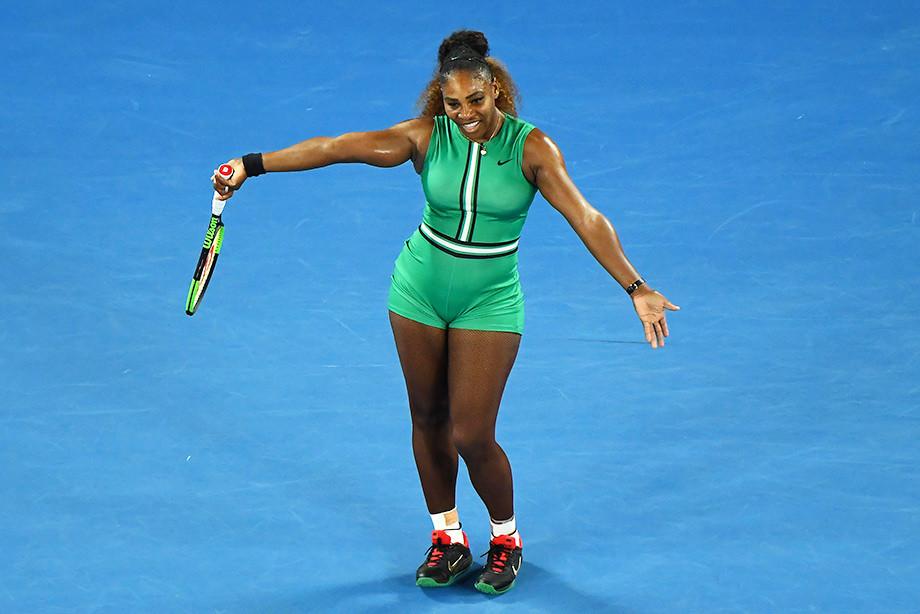 Серена Уильямс вернулась на корт на соревнованиях в Риме