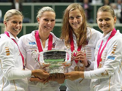 Чехия – теннисная нация 2012 года среди женщин