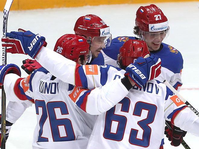 Чемпионат мира по хоккею - 2016. Онлайн-трансляция 8 мая
