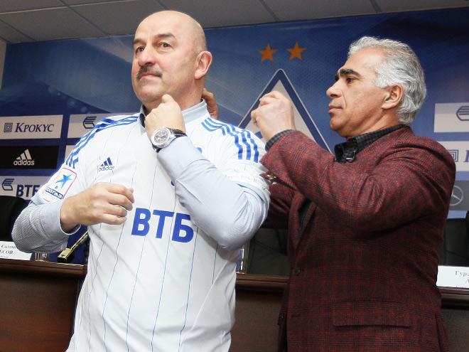 Станислав Черчесов и Гурам Аджоев