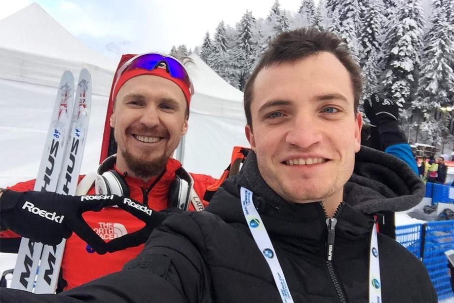 Тимофей Лапшин и Дмитрий Егоров
