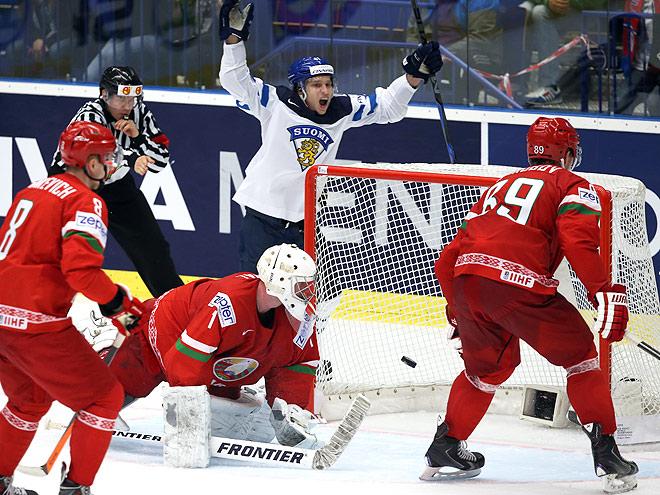 ЧМ-2015. Финляндия – Беларусь – 3:2 Б
