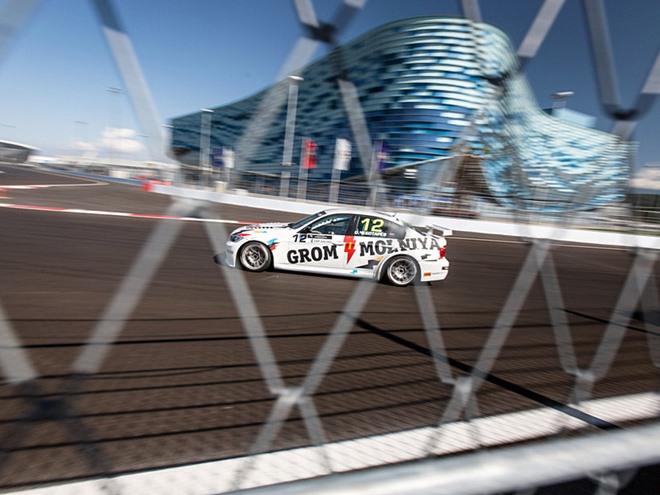 Трасса Сочи за месяц до Гран-при России Формулы-1