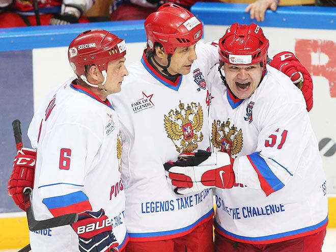 Россия выиграла у Чехии в финале Лиги Легенд – 8:5