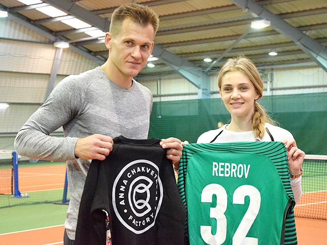 Артём Ребров и Анна Чакветадзе