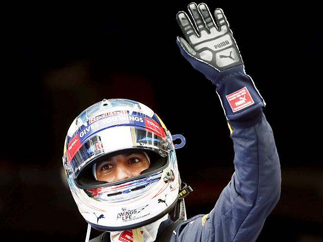Квалификацию Гран-при Монако «Формулы-1» одержал победу Даниэль Риккардо