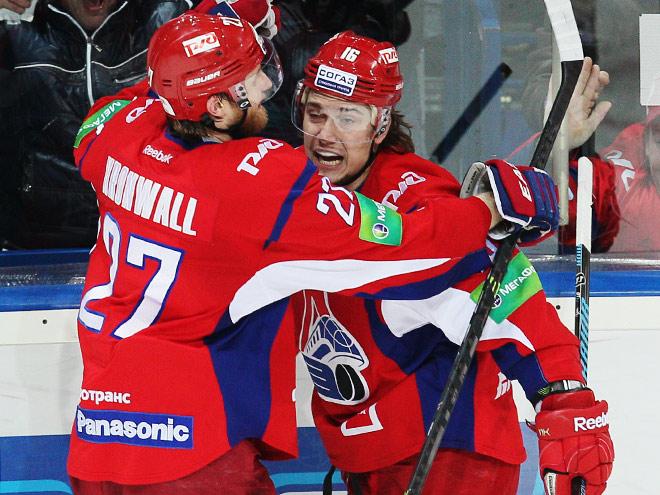 «Локомотив» вырвал победу у «Льва» - 3:2 (ОТ)