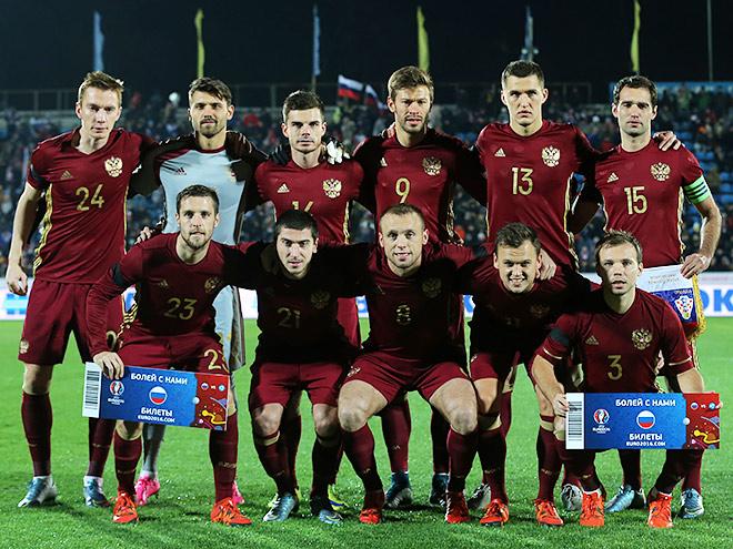 Сборная России перед матчем с Хорватией