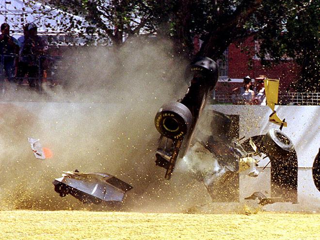 Пять невероятных аварий в Формуле-1 без жертв