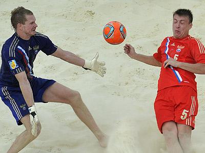 Сборная Испании по пляжному футболу выиграла отборочный турнир ЧМ-2013