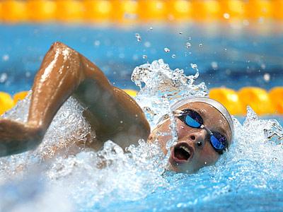 Олимпиада 2012. Плавание. Вероника Попова