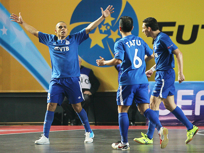 «Динамо» поборется за Кубок УЕФА по мини-футболу